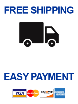 Shipping and Credit Promo  - Right Side Nav Home